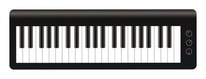 Electronic Keyboards Royalty Free Stock Photos
