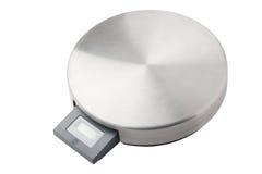 Electronic kitchen scale Royalty Free Stock Photo