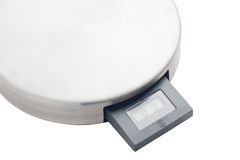 Electronic kitchen scale Stock Photo