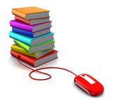Electronic library Royalty Free Stock Photo