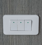 Electronic-light switch Royalty Free Stock Images