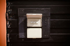 electronic-light switchs Stock Image