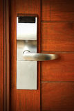 Electronic lock on door Royalty Free Stock Photography