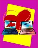Electronic love Stock Photos