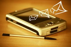 Electronic mail  Royalty Free Stock Photos