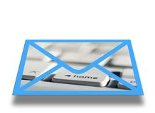 Electronic mail Royalty Free Stock Photo