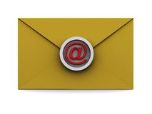 Electronic mail envelope Royalty Free Stock Photos