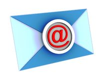 Electronic mail envelope Stock Image