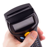 Electronic manual scanner of bar codes Stock Photography
