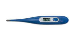 Electronic medical thermometer Royalty Free Stock Photography