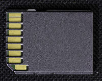 Electronic memory card for a digital camera Stock Photography