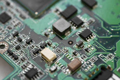 Electronic micro circuit Royalty Free Stock Photo