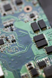 Electronic micro circuit Royalty Free Stock Photography