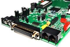 Electronic microcircuit Stock Photography