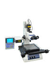 Electronic microscope. A medical laboratory Electronic microscope binocular Royalty Free Stock Images