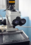 Electronic microscope Royalty Free Stock Image