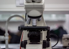 Electronic microscope biotechnological laboratory equipment for Stock Photography