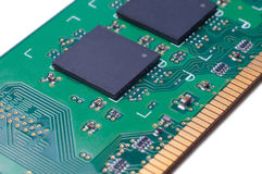 Electronic module RAM Stock Image