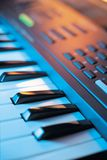 Electronic Music Keyboard Royalty Free Stock Photos