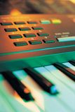 Electronic Music Keyboard Stock Photos