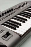 Electronic Music Keyboard Royalty Free Stock Photography