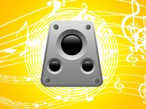 Electronic music player Royalty Free Stock Photo