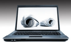 Electronic news Stock Photography