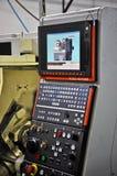 Electronic numeric lathe Royalty Free Stock Photos