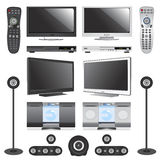 Electronic objects Stock Images
