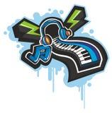 Electronic organ Royalty Free Stock Image