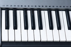 Electronic organ Royalty Free Stock Images