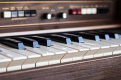 Electronic organ Royalty Free Stock Image