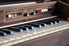 Electronic organ Stock Photography