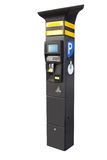 Electronic parking machine Royalty Free Stock Photography