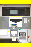 Electronic parking ticket machine Stock Images