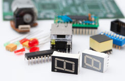 Electronic part Stock Photography