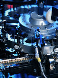 Electronic part production Royalty Free Stock Photography