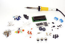 Electronic Parts Royalty Free Stock Images