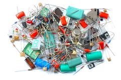 Electronic parts Stock Images