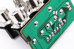 Electronic Parts Royalty Free Stock Image