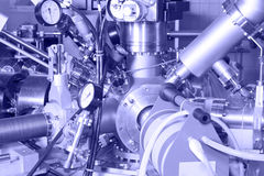 Electronic parts of ION Accelerator Stock Photography