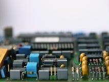 Electronic parts Stock Image
