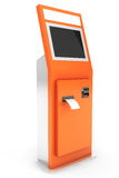 Electronic Pay Terminal Royalty Free Stock Photo
