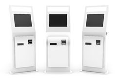 Electronic Pay Terminals Stock Image