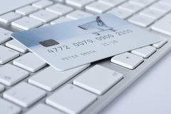 Electronic payment concept and e-banking Royalty Free Stock Photos