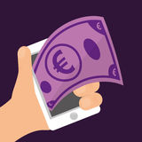 Electronic payment and technology Royalty Free Stock Photos