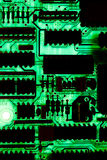 Electronic PCB circuit Royalty Free Stock Image