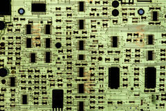 Electronic PCB circuit Royalty Free Stock Photos