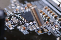 Electronic PCB Royalty Free Stock Photography
