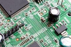 Electronic PCB Printed Circuit Board Stock Photo